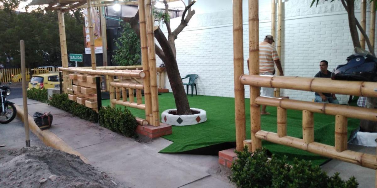 Grama Sintetica Para Jardines Terrazas Futbol 5 Y Otros