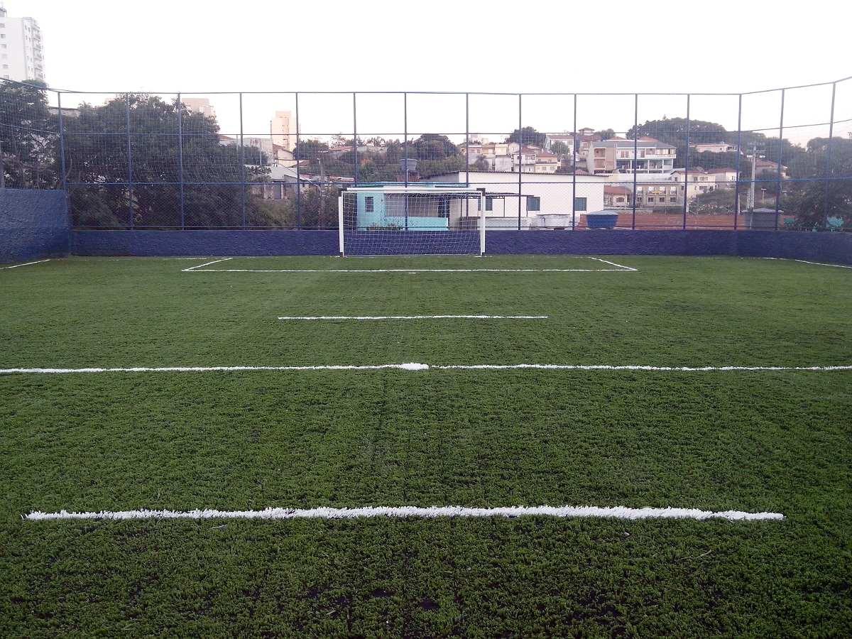 grama sintética sportgrass duo - campo de futebol instalado. Carregando  zoom. 6146cb50e3ddc