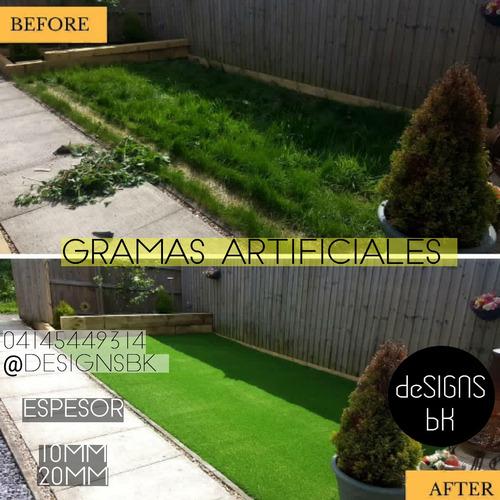 gramas artificiales para uso residencial y deportiva