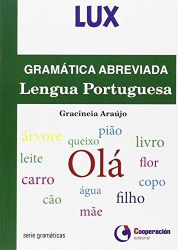 gramatica abreviada - lengua portuguesa (lux);  envío gratis
