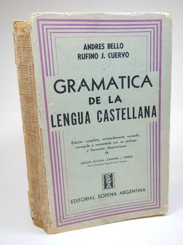 gramatica de la lengua castallana andres bello d8