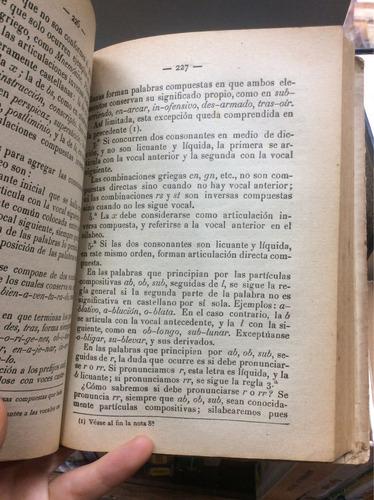 gramática de la lengua castellana. francisco marulanda