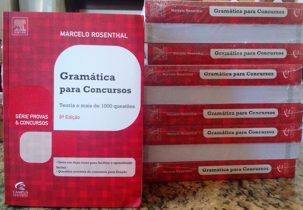 Gramatica Para Concursos Marcelo Rosenthal Pdf