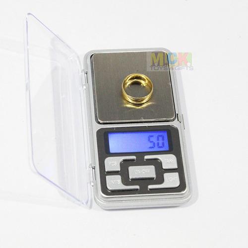 gramera balanza bascula pesa joyería bolsillo 500g/0.01g