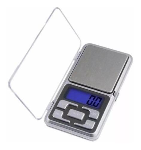 gramera bascula balanza pesa joyería bolsillo 500gr