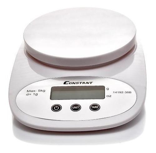gramera bascula digital para cocina laboratorio 5kg constant
