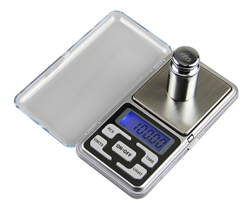 gramera pesa balanza digital de bolsillo 0.1 a 500 g
