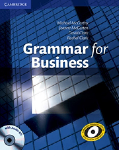 grammar for business - book with audio cd