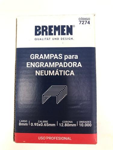 grampas 80/8 (12,8mmx 8mm) x 10.000 unid bremen® bta makita