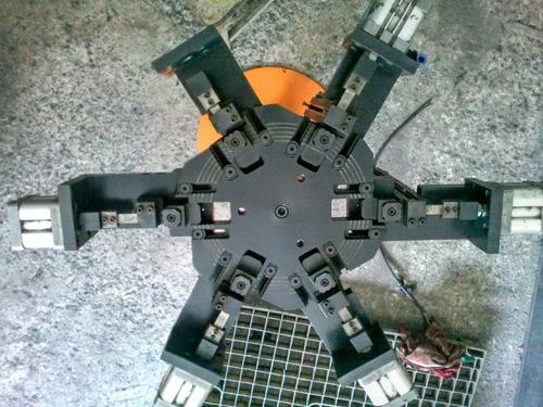 grampeadeira de barricas pneumática