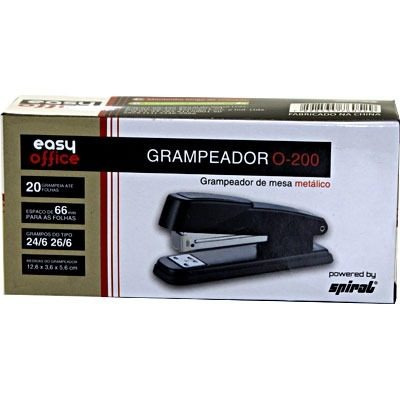 grampeador 26/6 20fl o-200 easy office cx 1 cx