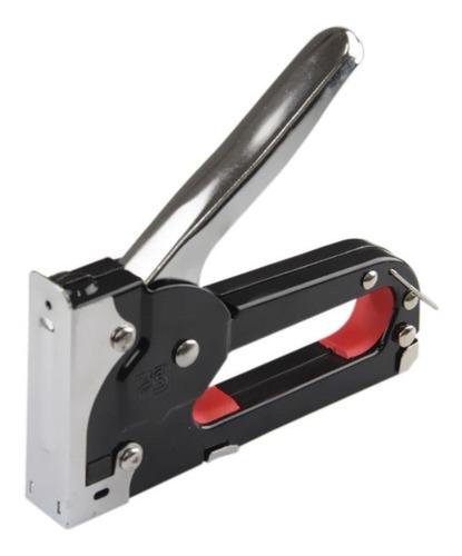 grampeador alta pressão profissional tapeceiro +1000 grampos