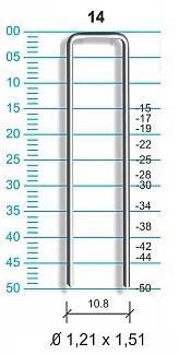 grampeador pacar 14/50 pacar - profissional-pneumático