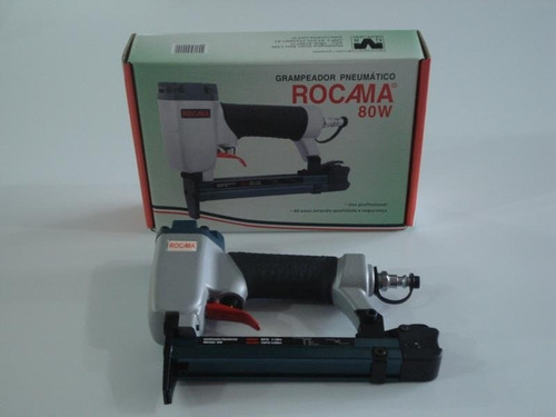 grampeador pneumático  rocama 80w - original frete gratis