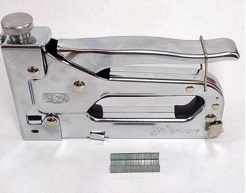 grampeador tapeceiro pressão prof sofa cadeira mtx + 2000 gr
