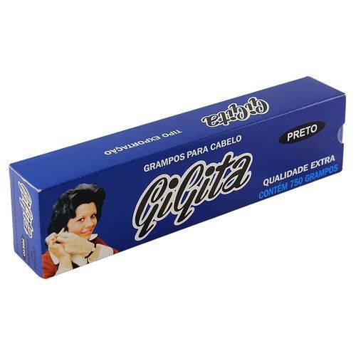 grampo de cabelo gigita n.05 preto 750un
