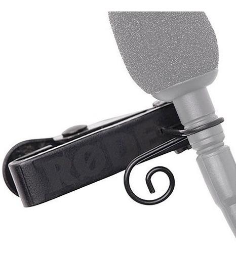grampo de fixação de microfone de lapela lav-clip 3 - rode