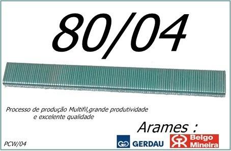 grampo pneumatico pcw / 80/04 - gps com 19250 grampos