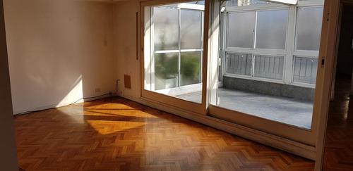 gran 2 ambientes al frente con balcón terraza, j. alvarez 2600, palermo