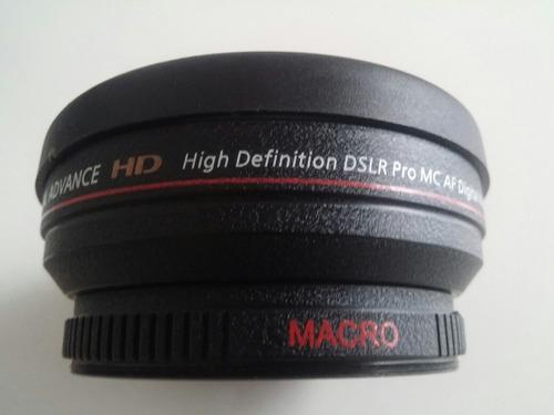 gran angular lente