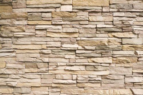 gran arte muro de piedra papel tapiz fotografico - papel pin