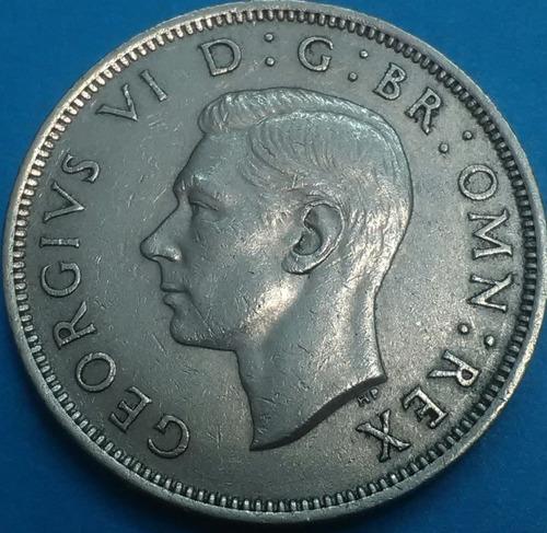 gran bretaña 2 shillings 1948 niquel