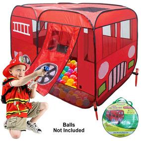 De Camión En Up Con Carpa Gran Play Peldaño Bomberos Pop doxeBrC