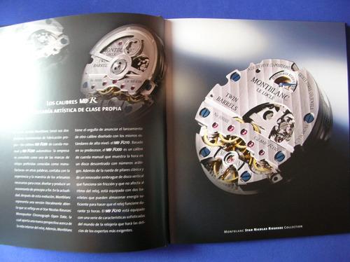 gran catalogo de relojes suizos de coleccion muy escaso
