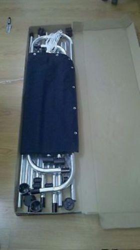 gran centro consola bote t top negro lona y aluminio tubo -