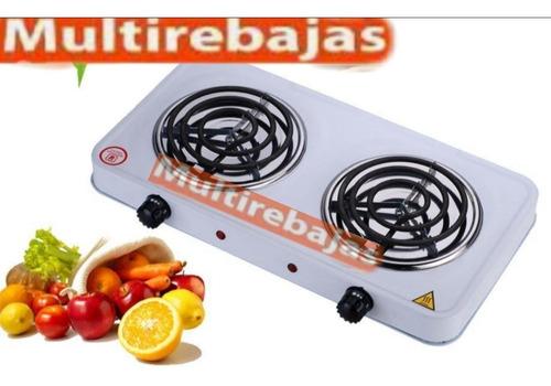 gran cocineta 2 quemadores eléctrica