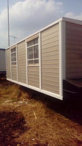 gran container de trailer para obra civil