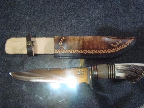 gran  cuchillo bowie   marca  de caro origen  tandil