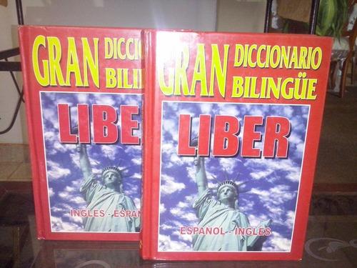 gran diccionario bilingue liber