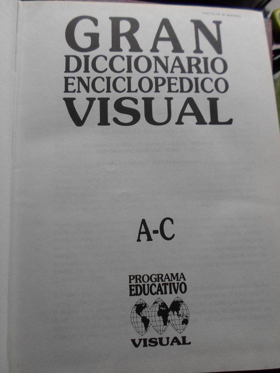 Gran Diccionario Enciclopedico Visual 4 Tomos 250 00 En  # Tauron Muebles Mercadolibre