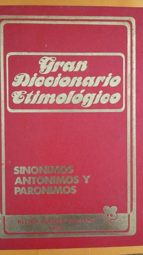 gran diccionario etimologico-2 tomos-e.martinez de rodriguez