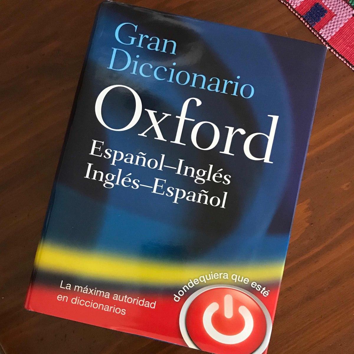 gran diccionario oxford español-ingles. Cargando zoom.