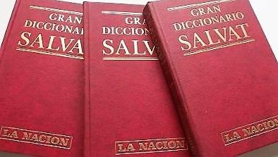 gran diccionario salvat (la nación, 3 tomos)