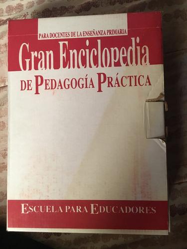gran enciclopedia de pedagogía practica