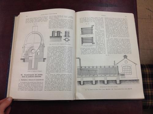 gran enciclopedia de química industrial. muspratt. 13 tomos.