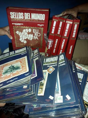 gran enciclopedia (estampillas del mundo) filatelia hyspana