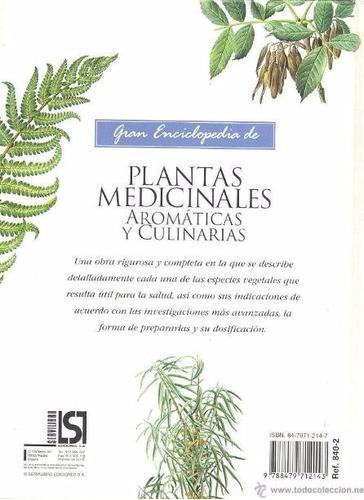 gran enciclopedia plantas medicinales aromáticas y culinaria