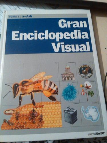 gran enciclopedia visual - 12 tomos empastados
