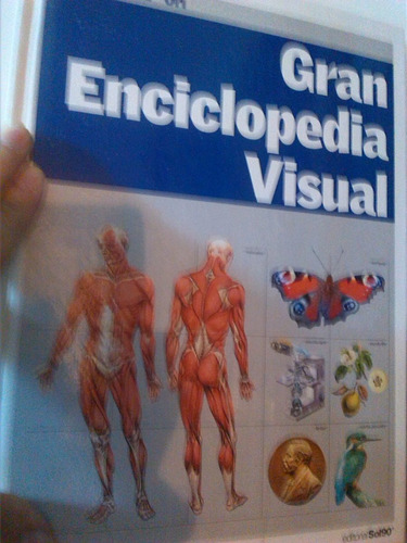 gran enciclopedia visual - 12 tomos empastados