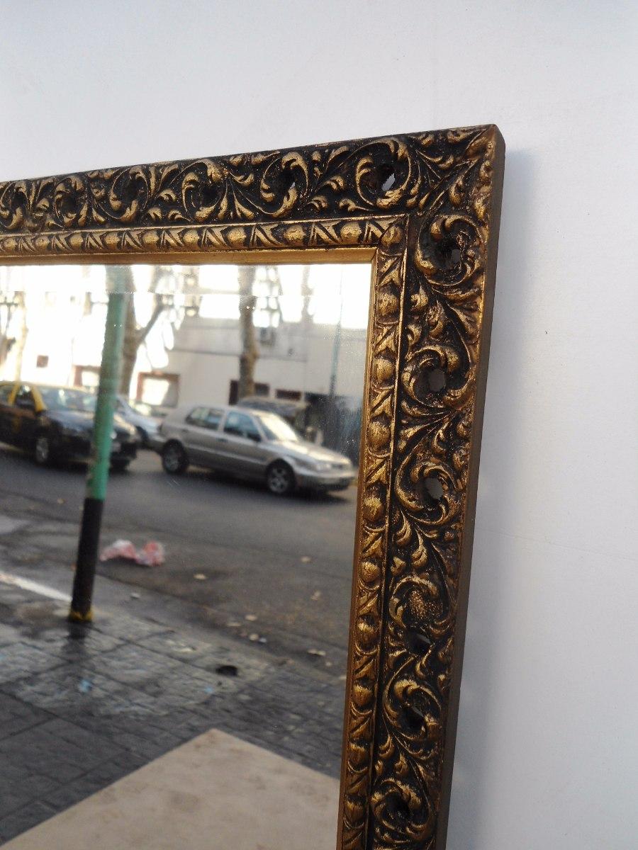 Lujo Gran Espejo Con Marco Dorado Cresta - Ideas de Arte Enmarcado ...