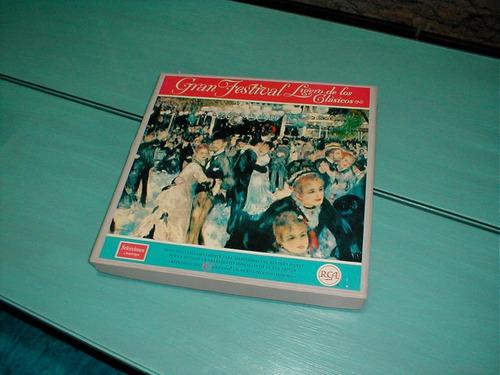 gran festival ligero de los clásicos disco vinilo no pasta