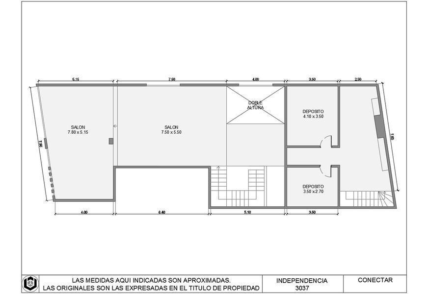 gran local comercial 300 m2 2 plantas  avenida independencia  balvanaera