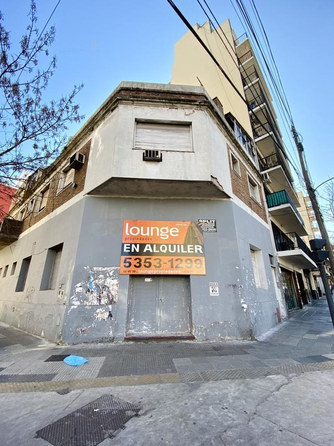 gran local sobre importante esquina -  apto todo destino - 200m2