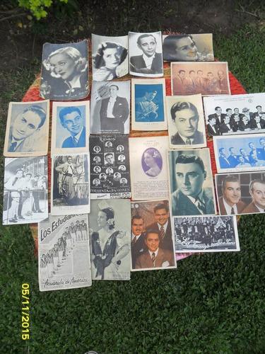 gran lote 22 foto postales marshall córdoba olmos carril....