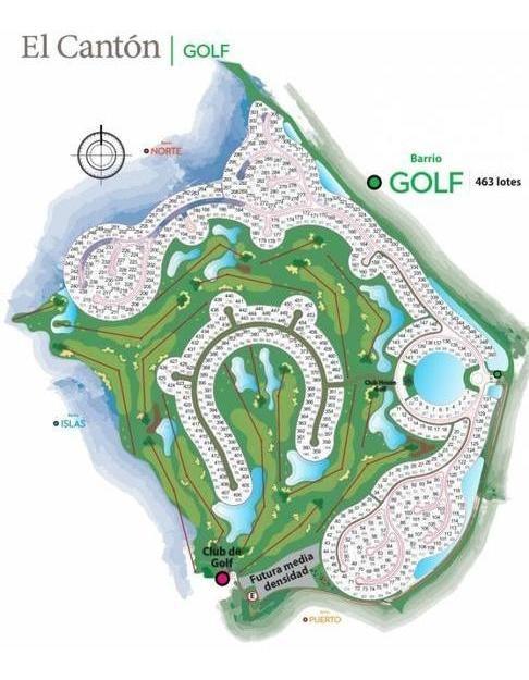 gran lote al golf! bº el canton