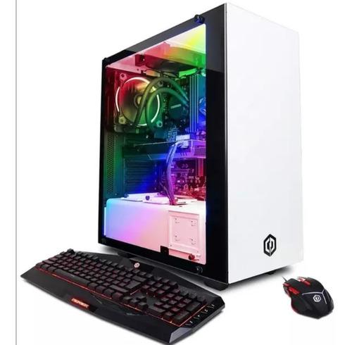 gran oferta cyberpowerpc computadora de escritorio gamer
